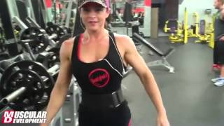 ANN TITONE   2013 IFBB FIGURE OLYMPIA   LEGS WORKOUT   Female Bodybuilding Muscle Fitness