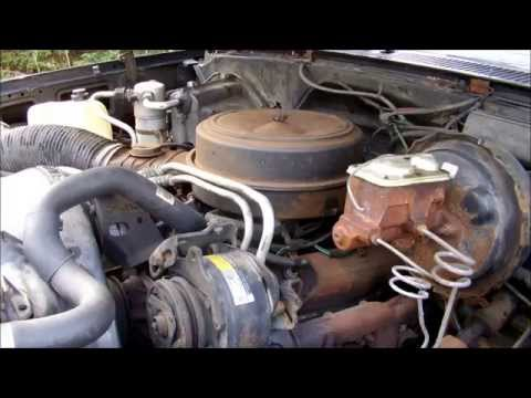 De-smogging the 1985 Chevy K20
