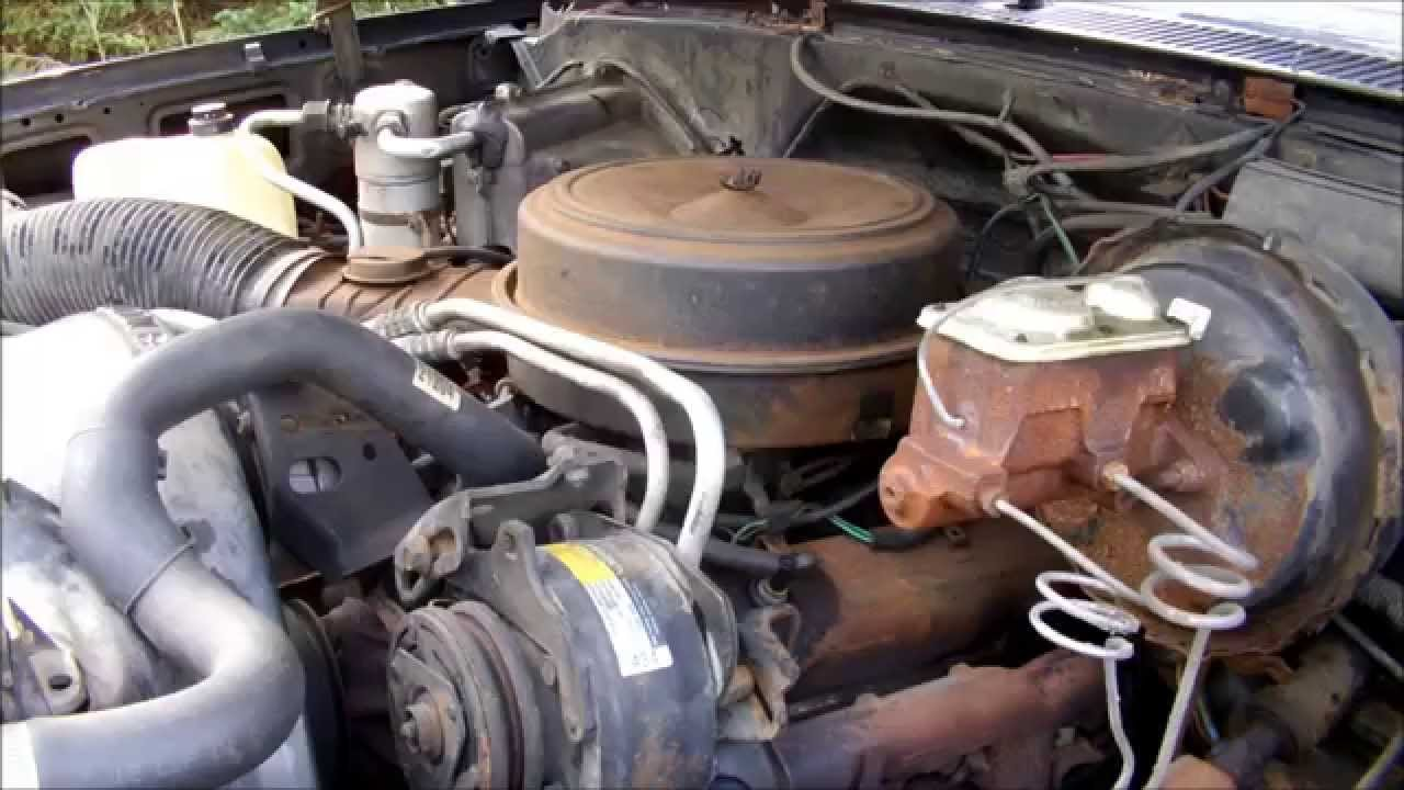 de smogging the 1985 chevy k20 youtube rh youtube com 1996 454 Belt Diagram Chevy 350 Belt Diagram