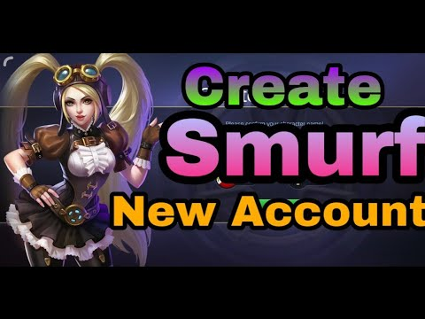 How To Create Smurf Account Or New Account In Mobile Legends - Mobile Legends BangBang