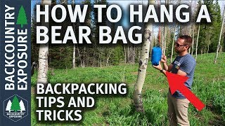 How To Hang Your Food Bag - Two Simple Methods
