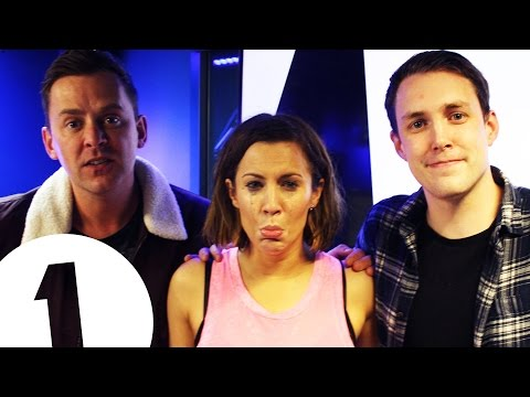 Caroline Flack plays Innuendo Bingo