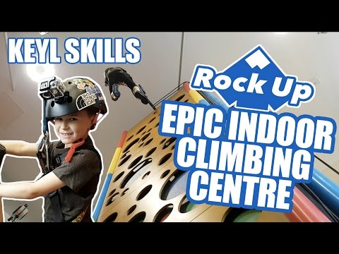 EPIC INDOOR CLIMBING CENTRE!