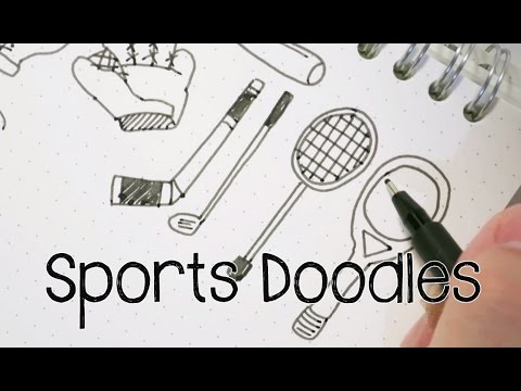 Sports Doodles | Doodle with Me