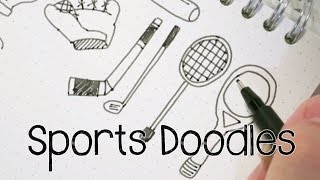 Draw Sports Doodles | Doodle with Me