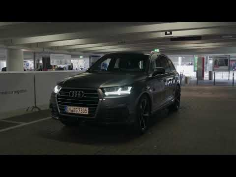 Audi Au­tonomous park­ing at Ham­burg Air­port