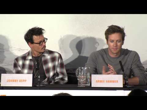 The Lone Ranger UK Press Conference Part 3 - Johnny Depp, Armie Hammer, Gore Verbinski (2013)