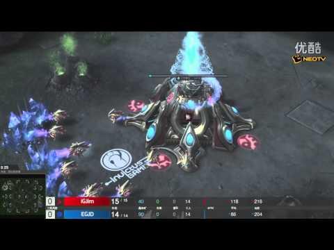 11月17日GPL黄金国际挑战赛(1) Jaedong(Z) vs Jim(P)