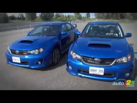 2011 Subaru WRX vs WRX STI