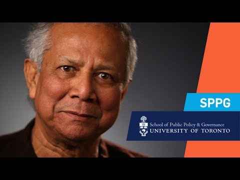 Nobel Laureate Muhammad Yunus on the Emerging Role of Social Businesses