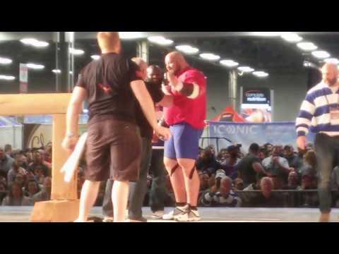 Arnold- Manhood stone - 560 lb 254 kg Brian Show