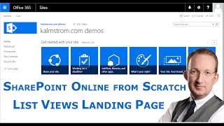 SharePoint Landing Page for List Views