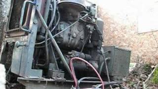 2-71 Detroit Diesel generator running