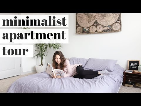 MINIMALIST APARTMENT TOUR | two bedroom