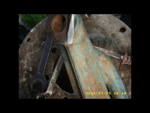 Замена тормозной ленты. ЛТЗ.Т-40АМ.