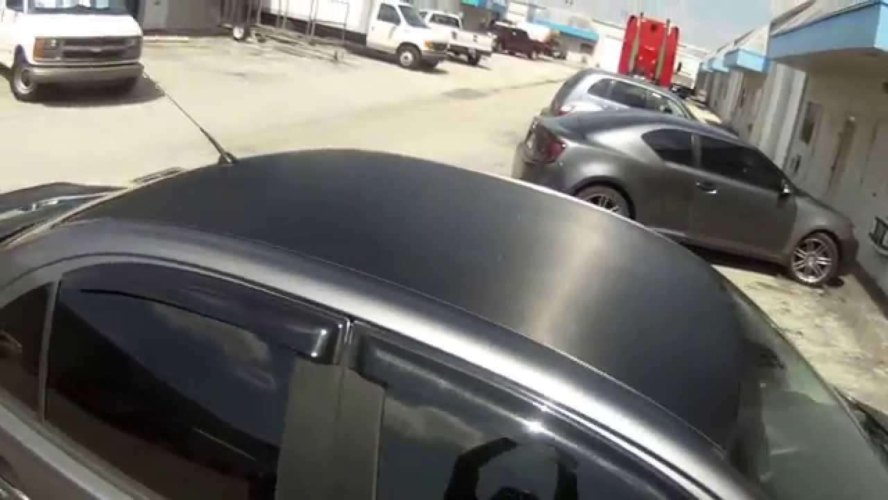 Mitsubushi Evo Carbon Fiber Hood Amp Roof Wrap Boca Raton