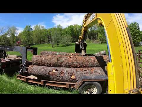 TC-35 repairs and getting logs from Andrew to build with