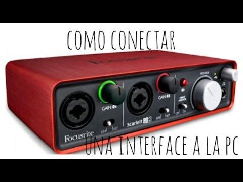 Como Conectar Una Interface De Audio