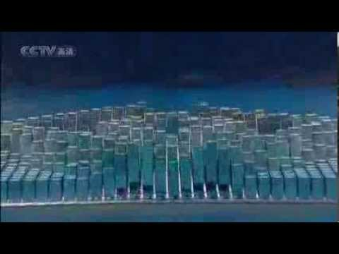 Beijing 2008 Olympic Opening Ceremony artistic section without commentary 1
