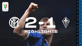 INTER 2-1 FIORENTINA | COPPA ITALIA HIGHLIGHTS | Candreva and Barella blow away Fiorentina ✌🏻⚫🔵