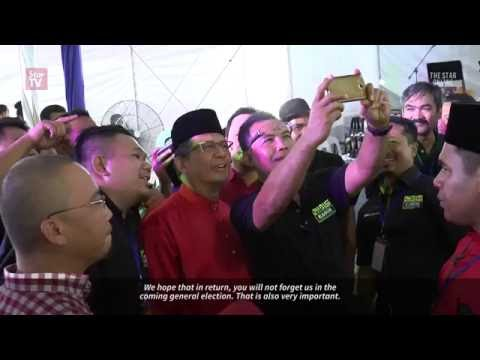 Let's form celebrities' groups from Terengganu to win votes for BN, says MB