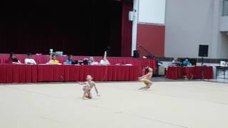 2016 Jun - 7th Gym Fun Grading - G1 Freehand - Macey and Qiao Er