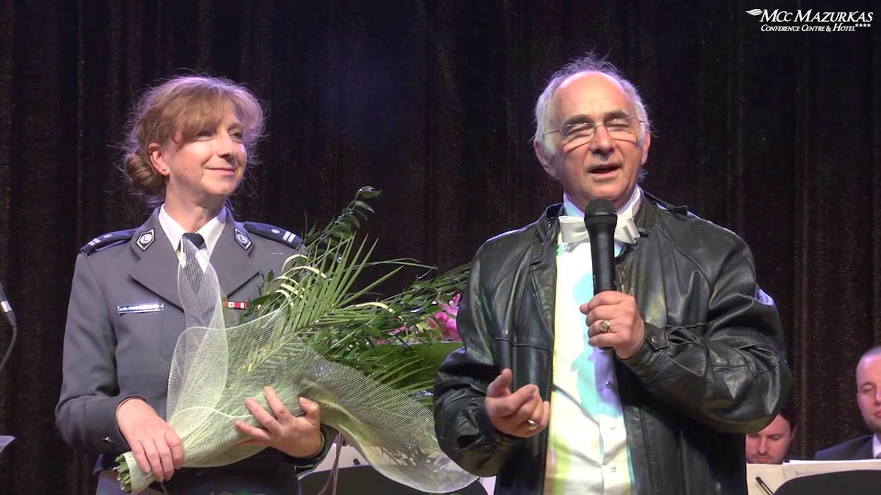 XXII Forum Humanum Mazurkas- benefis Sz.Kawalla- fanfary od policyjnej orkiestry
