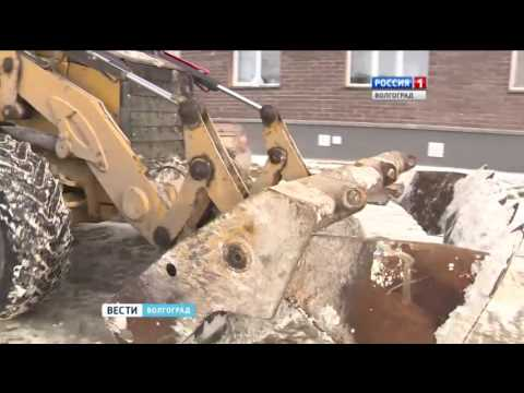 В Волгограде усиливается снегопад