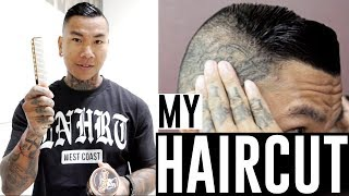 The Comb Over - How I Cut and Style my Hair