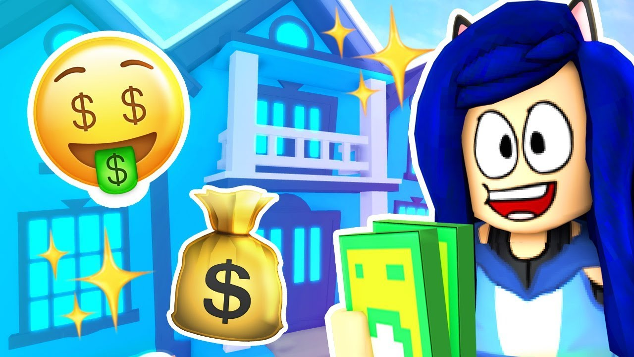 Itsfunneh Roblox Meep City I Bought A Mansion In Roblox Youtube