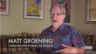 Matt Groening on the Genesis of the Simpsons Theme