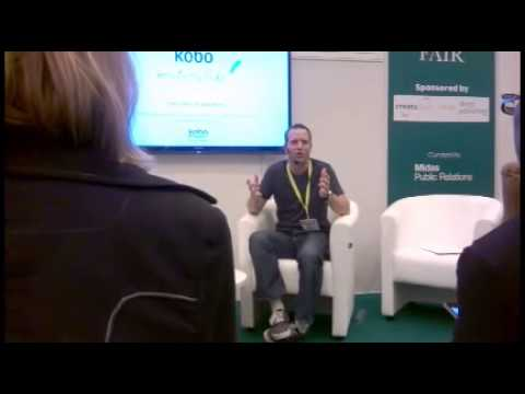 Hugh Howey at the London Book Fair 2014