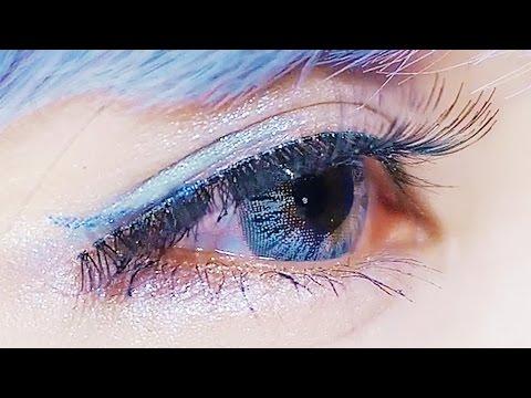 Blue COLOR Makeup   Yui Minakata ★カラーメイク【皆方由衣】