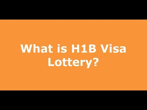 H1B VISA 2015 - Lottery Results, Updates and Cap Count