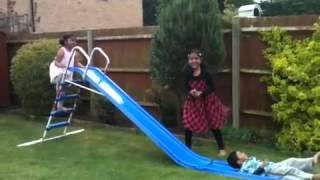 Disha, Anvi, Subbu sliding at Adi's home Thumbnail