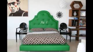 Green With Envy colors bedroom