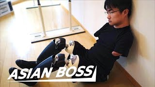 Being Born Without Arms And Legs In Japan Ft. Hirotada Ototake | ASIAN BOSS