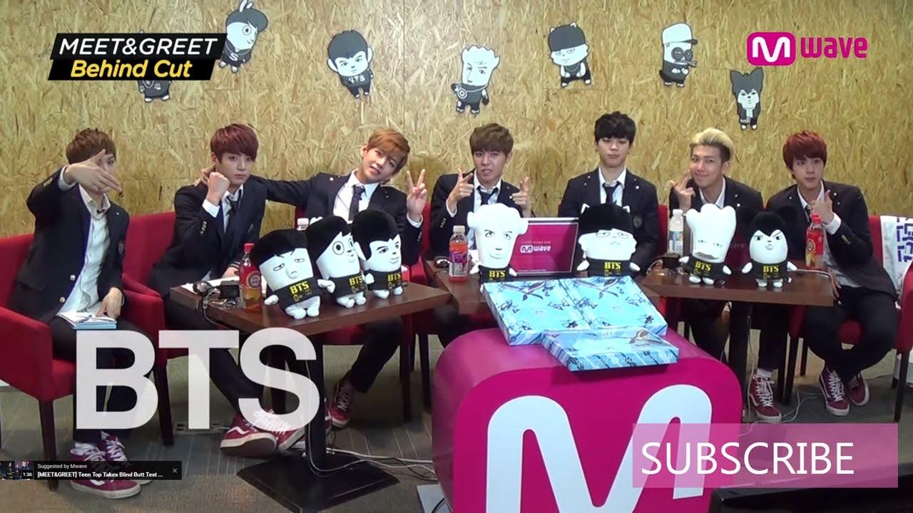 mnet meet and greet bts members