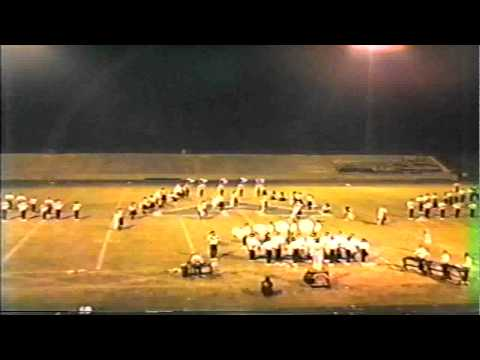 Needham Broughton High School Marching Band-Albemarle Competition 1984