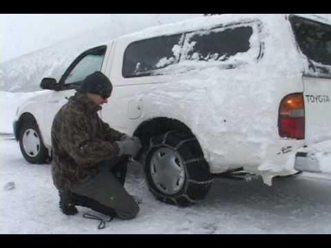 Tire Chains & Snow Plows!