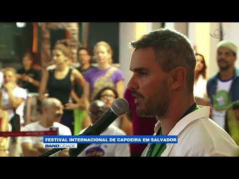 """Band Cidade - """"Festival Internacional de capoeira em Salvador"""""""