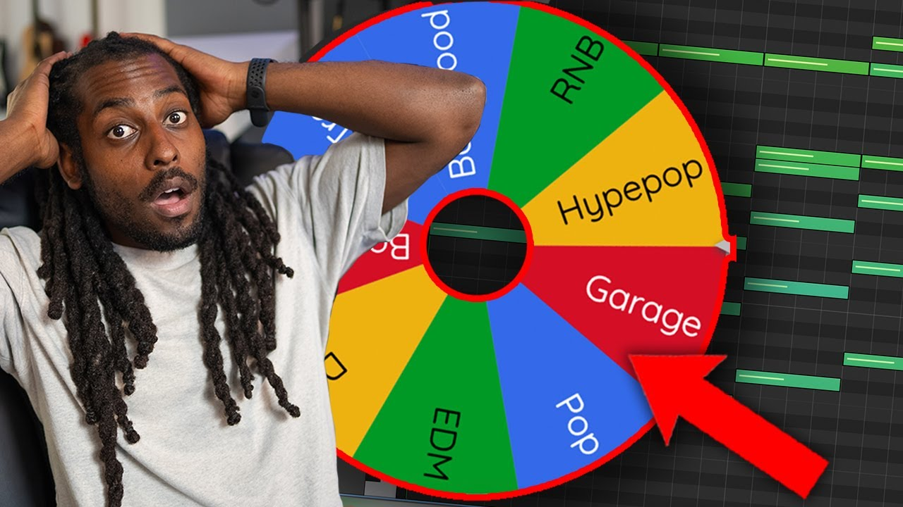 SPIN THE WHEEL, MAKE THE GENRE