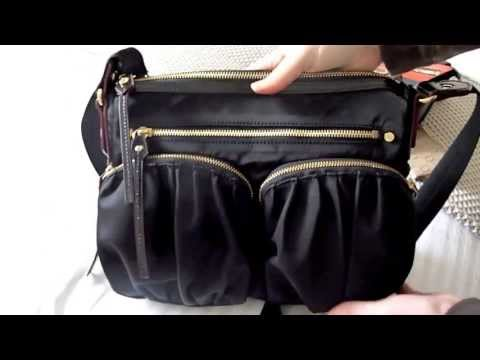 MZ Wallace Paige Cross Body Bag Perfect for Travel Handbag