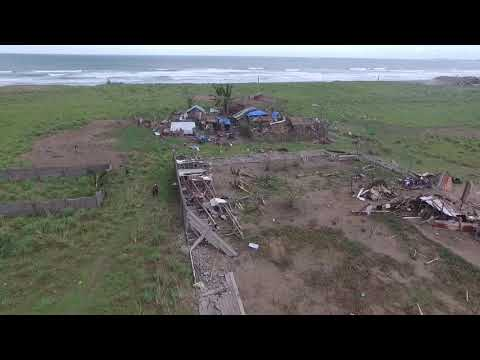 Typhoon Nona in Northern Samar