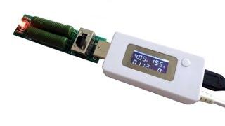 Обзор тестера для аккумуляторов с нагрузочным резистором