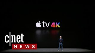 Apple TV 4K with HDR video support revealed at Apple event
