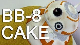 كيفية جعل النجوم BB-8 كعكة