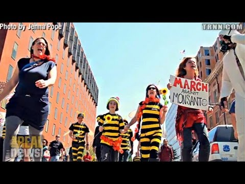 """Protest in DC Denounces """"Monsanto Protection Act"""""""