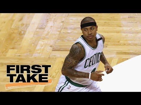 First Take reacts to Isaiah Thomas trade drama | First Take | ESPN