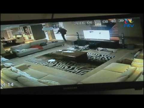 Gang of 6 behind a spate of robberies in Kitengela caught on CCTV robbing a house